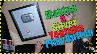 Make a Silver YouTube Play Button