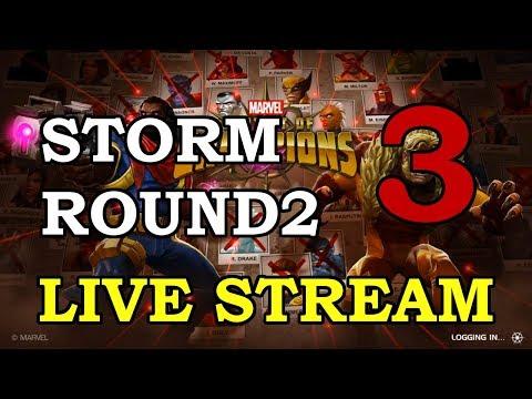 Storm Round 2 - Part 3   Marvel Contest of Champions Live Stream