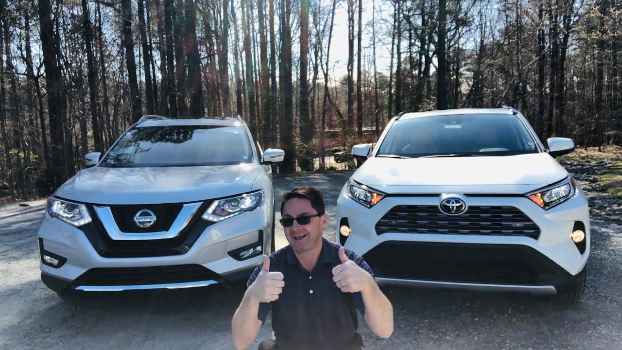 Nissan Rogue Vs Toyota Rav4 >> 2019 Rav4 Vs 2019 Rogue Who Wins This Head To Head Battle