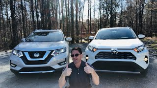 2019 RAV4 vs 2019 Rogue! Who wins this head-to-head battle?