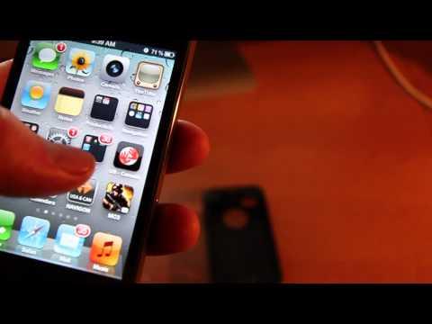 Manual de iPhone 4 , como utilizar iPhone 4 PARTE 1