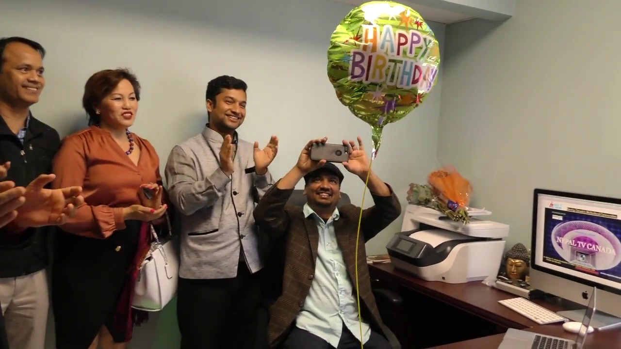 Nepal Tv Canada Office Studio Opening Nepali New Year 2074