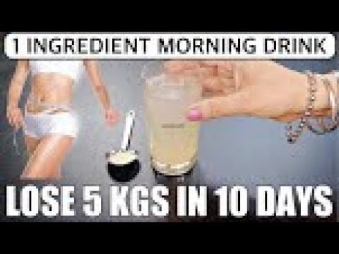 Morning Weight Loss Drink | Lose 6 Kgs In 10 Days | Hing Water For Weight Loss Morning Routine