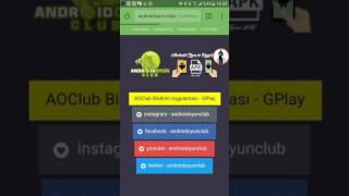 Android oyun Club apk dosya nasıl indirilir
