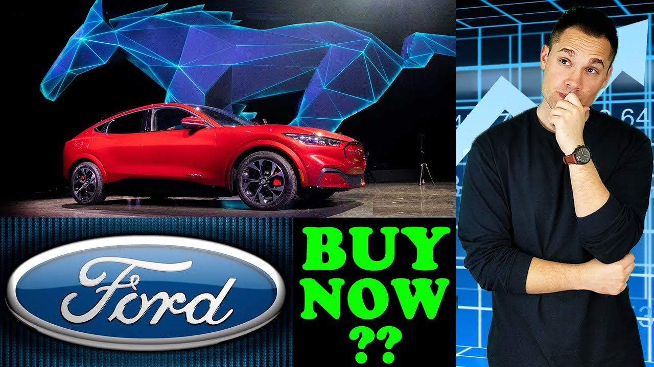 Is Now The Time To Buy FORD Stock? - (New Electric Mustang Unveiled!)