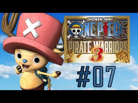 One Piece Pirate Warrior 3 - Let's play #07 (CH2, EP01 - Skull and Cherry Blossoms)