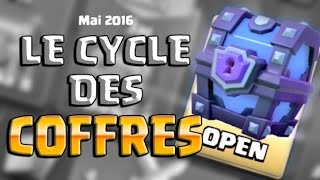 Clash Royale - NEW CYCLE DES COFFRES : QUAND VAIS JE AVOIR MON SUPERCOFFRE MAGIQUE ?! MAI 2016