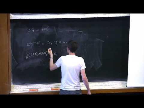 Jérémie Szeftel The resolution of the bounded L2 curvature conjecture in General Relativity (Part 1)