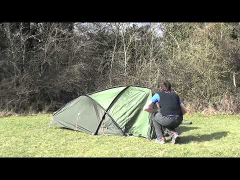 How to pitch a Marmot Grid Plus Tent - YouTube