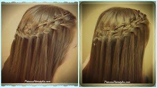 Double Woven Waterfall Braid Tutorial, 2 Braided Hairstyles