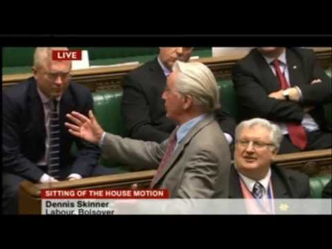 Dennis Skinner and his incredible speech in FULL in the House of Commons 16/04/2013