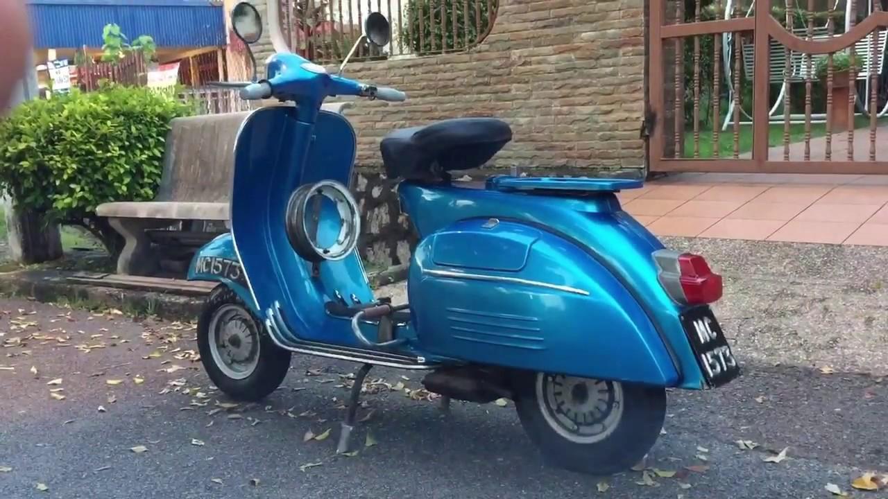 1967 Vespa Super 150  Vbc1t  Restoration Malaysia