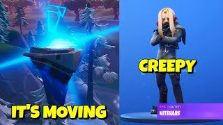STAGE 2: RUINS MOVE + CREEPY NITEHARE SKIN In-Game Fortnite