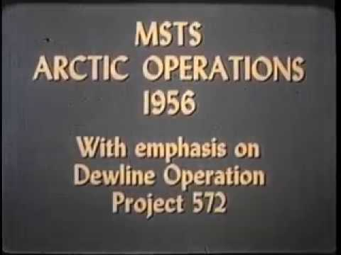 Military Aircraft - MSTS Arctic Operations 1956 (Navy film) D.O.D.
