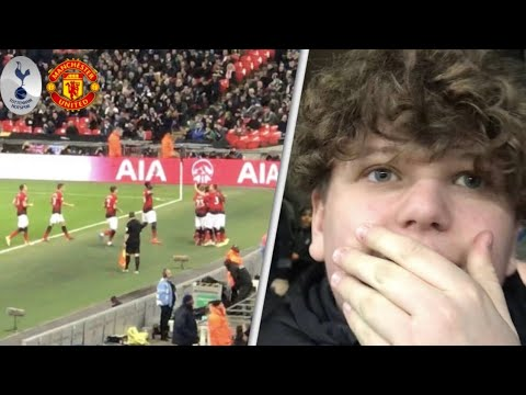 Tottenham 0-1 Manchester United! Premier League Match Day Vlog! De Gea saved every chance!