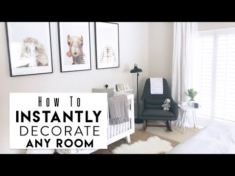 INTERIOR DESIGN: 5 Hacks to Instantly Decorate Any Room