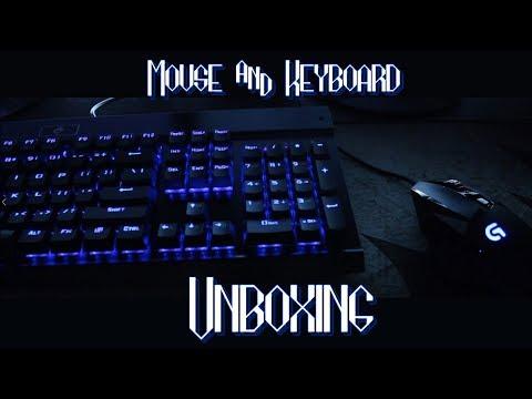 6495ddb20c7 New Gaming Keyboard & Mouse Unboxing! Logitech G502 & EagleTec KG010!
