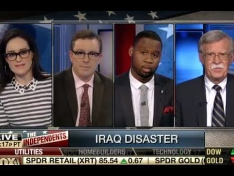 Libertarians Rip Neocon On Fox Business
