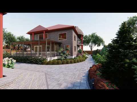 Ландшафтный дизайн частного дома в г. Анапе