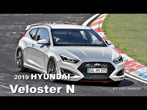 2019 Hyundai Veloster N Spy Shot Render Preview