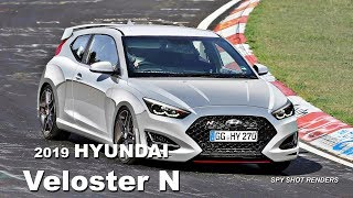 2019 Hyundai Veloster N Spy Shot Render Preview смотреть