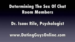 Determining The Sex Of Chat Room Members