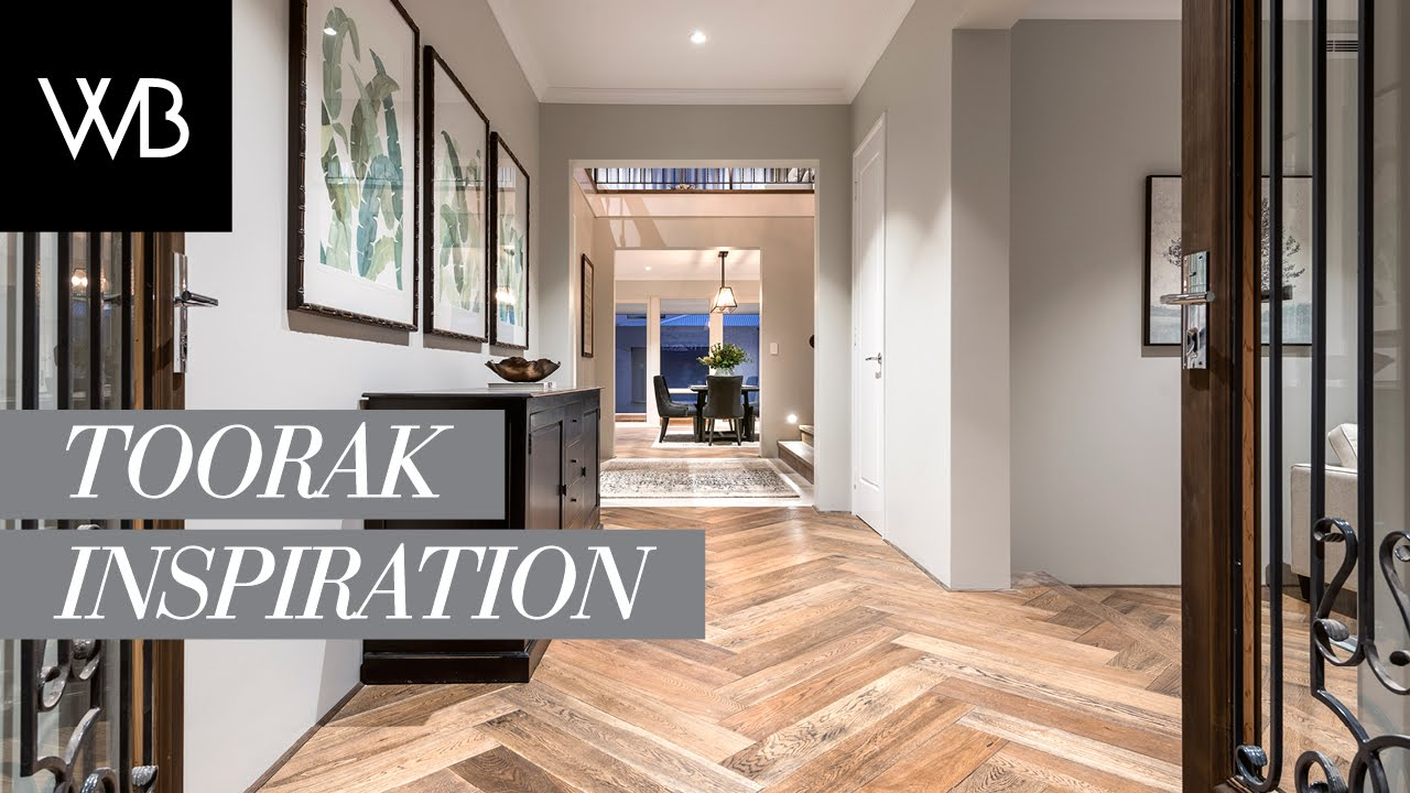 Home Design Inspiration For The Toorak Webb  BrownNeaves - Display home interiors