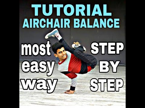 How To Airchair Balance Tutorial For Beginners Step By Step