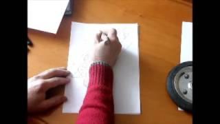 як зробити паперовий дерево