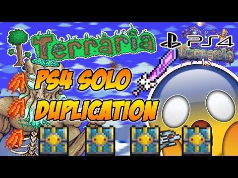 Terraria 1.3 Ps4 Solo Duplication Glitch (Terraria 1.3 Console Glitches)