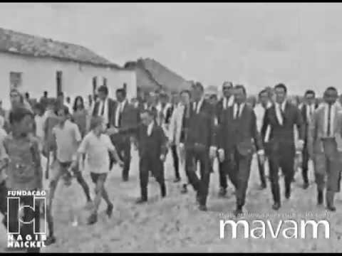 1968   Visita Governador José Sarney a Chapadinha.