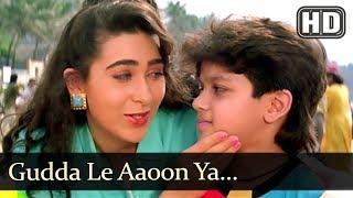 Gudda Le Aaoon Ya (HD) - Papi Gudia - Karisma Kapoor - Master Amar