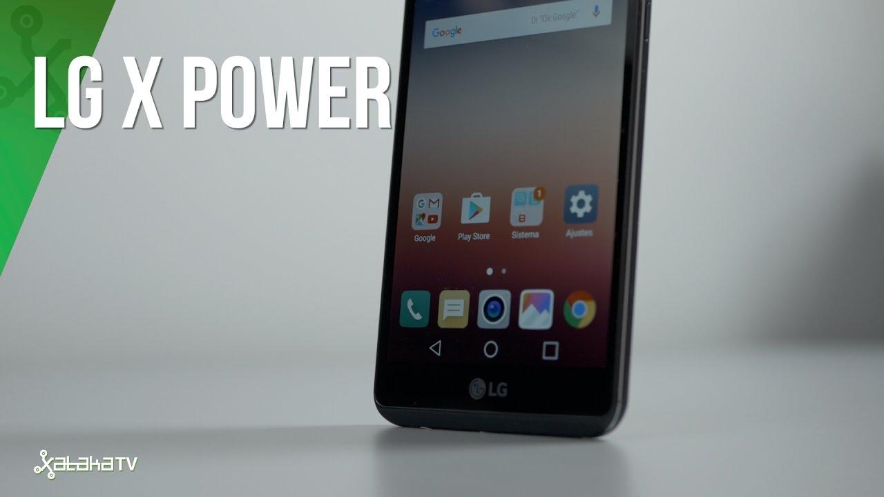 LG X Power, review y análisis en español
