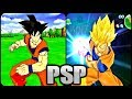 All Dragon Ball Z Games for PSP (PPSSPP)