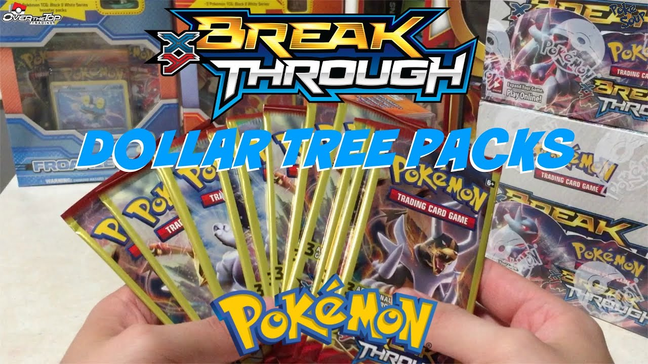 Another Try At Slark Ultra Rare: Opening Pokemon Cards Dollar Tree Breakthrough Booster