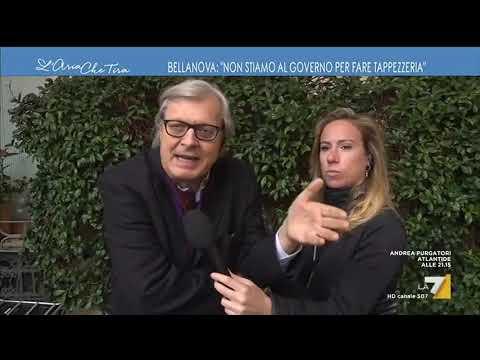 Vittorio Sgarbi: 'Conte è un trovatello, è sconfortante un governo di merda fatto da gente ...