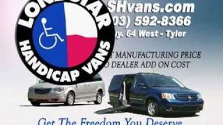 Handicap Wheelchair Vans for sale by Lone Star Handicap Vans in Texas
