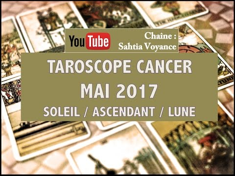 🔮TAROSCOPE🔮 CANCER♋ MAI 2017 : TROUVEZ VOTRE MOTIVATION INTERIEURE !