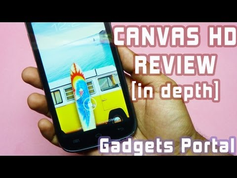 Micromax CANVAS HD A116 REVIEW [in-depth] with unboxing + benchmarks + verdict by GADGETS PORTAL