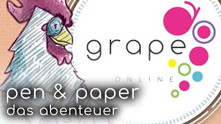 Pen and Paper Grape | Das Online-Abenteuer im MMORPG-Setting
