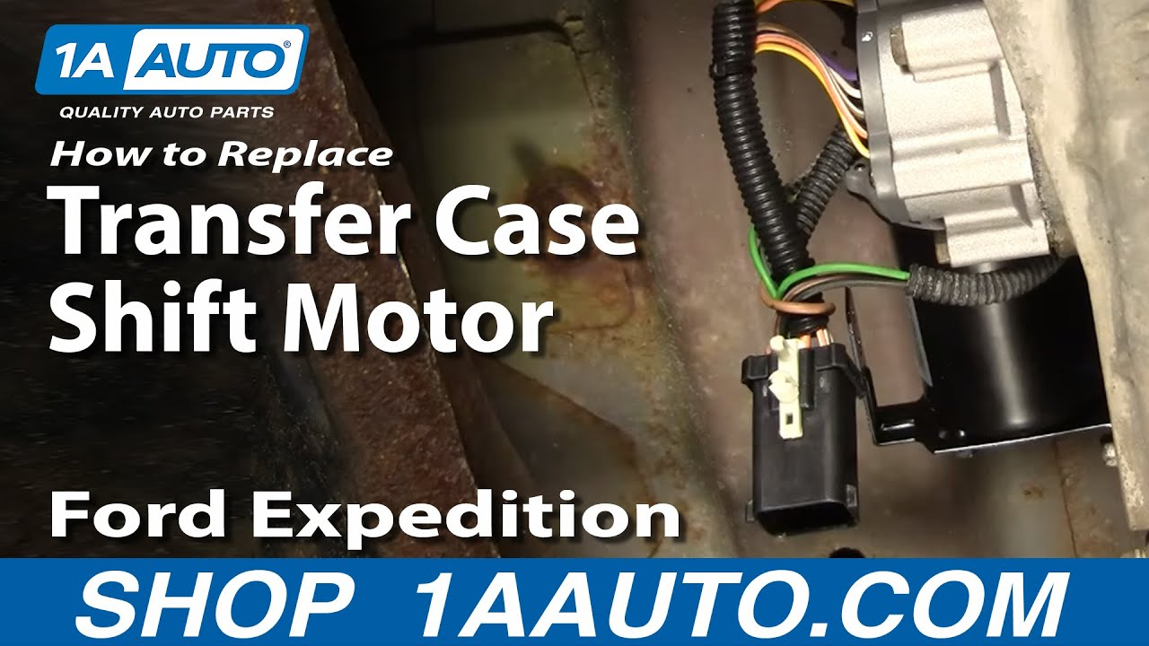 hight resolution of how to replace transfer case shift motor 97 02 ford expedition