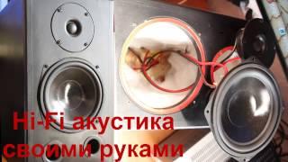 видео HiFi акустика