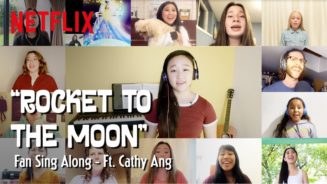 Rocket to the Moon' Sing Along Ft. Cathy Ang & YOU! | Over the Moon | Netflix Futures