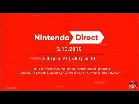 Nintendo Direct 2/13 Reaction