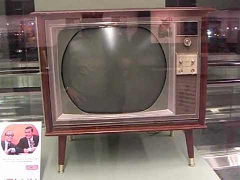 """""""World's only Jet-tested portable TV!"""" When US made TVs. SFO TV exhibit 2011 -10"""