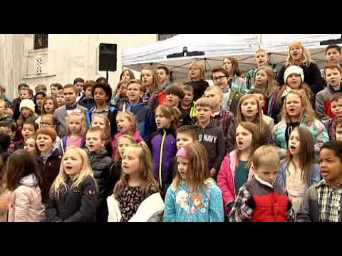 Sonshine Christian School Perform at the Whistle Stop Tour of the 2018 U.S. Capitol Christmas Tree