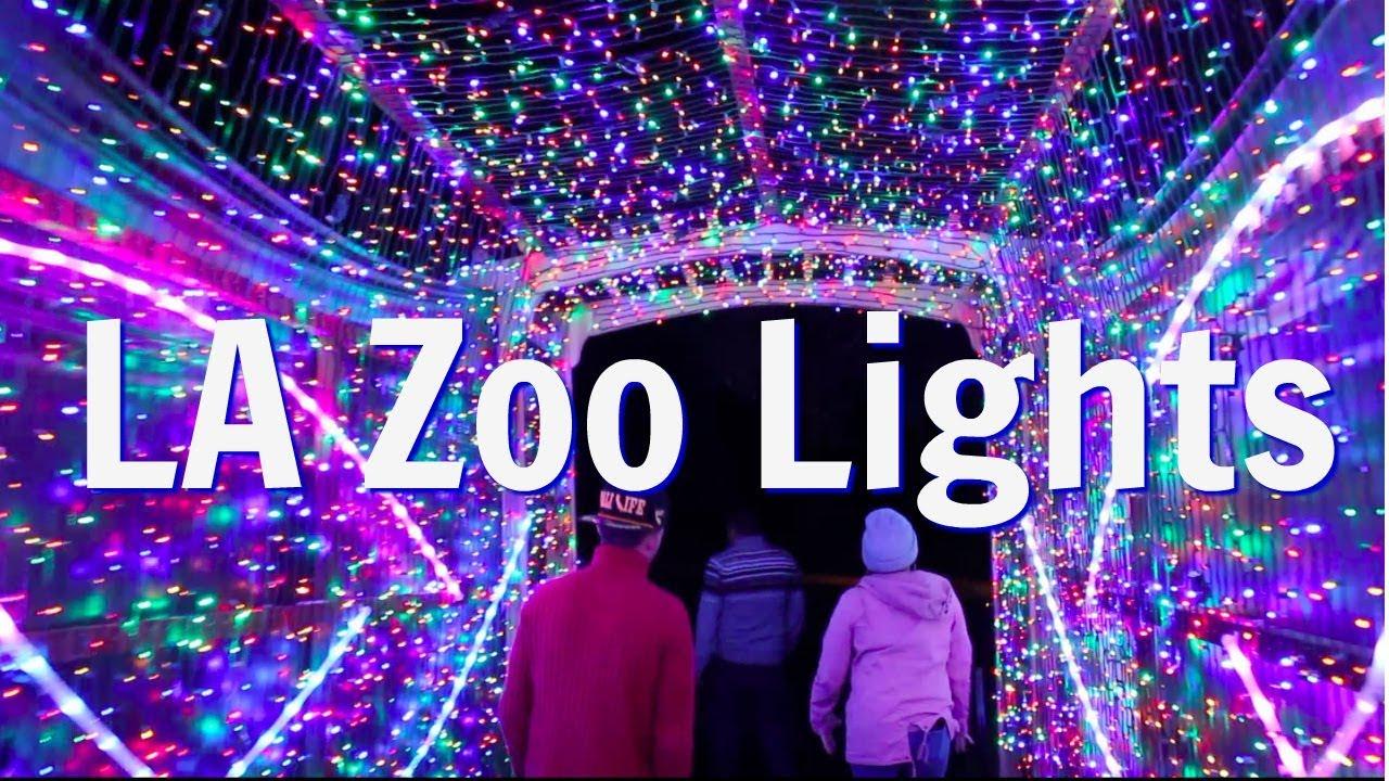 LA Zoo Lights  Christmas In Los Angeles