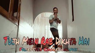 Tujh Mein Rab Dikhta Hai - Instrumental | Dheeraj Utreja | Freestyle Dance Choreography