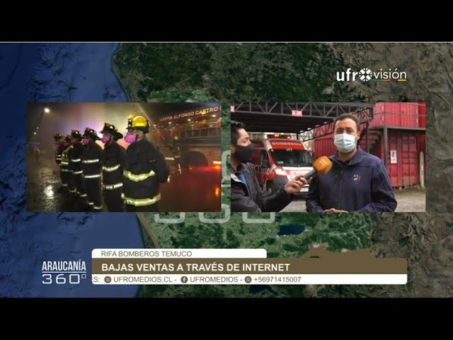 Baja venta de rifa de bomberos