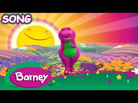 Barney - Mr Sun, Sun, Mister Golden Sun! (15 MINUTES SONG!)
